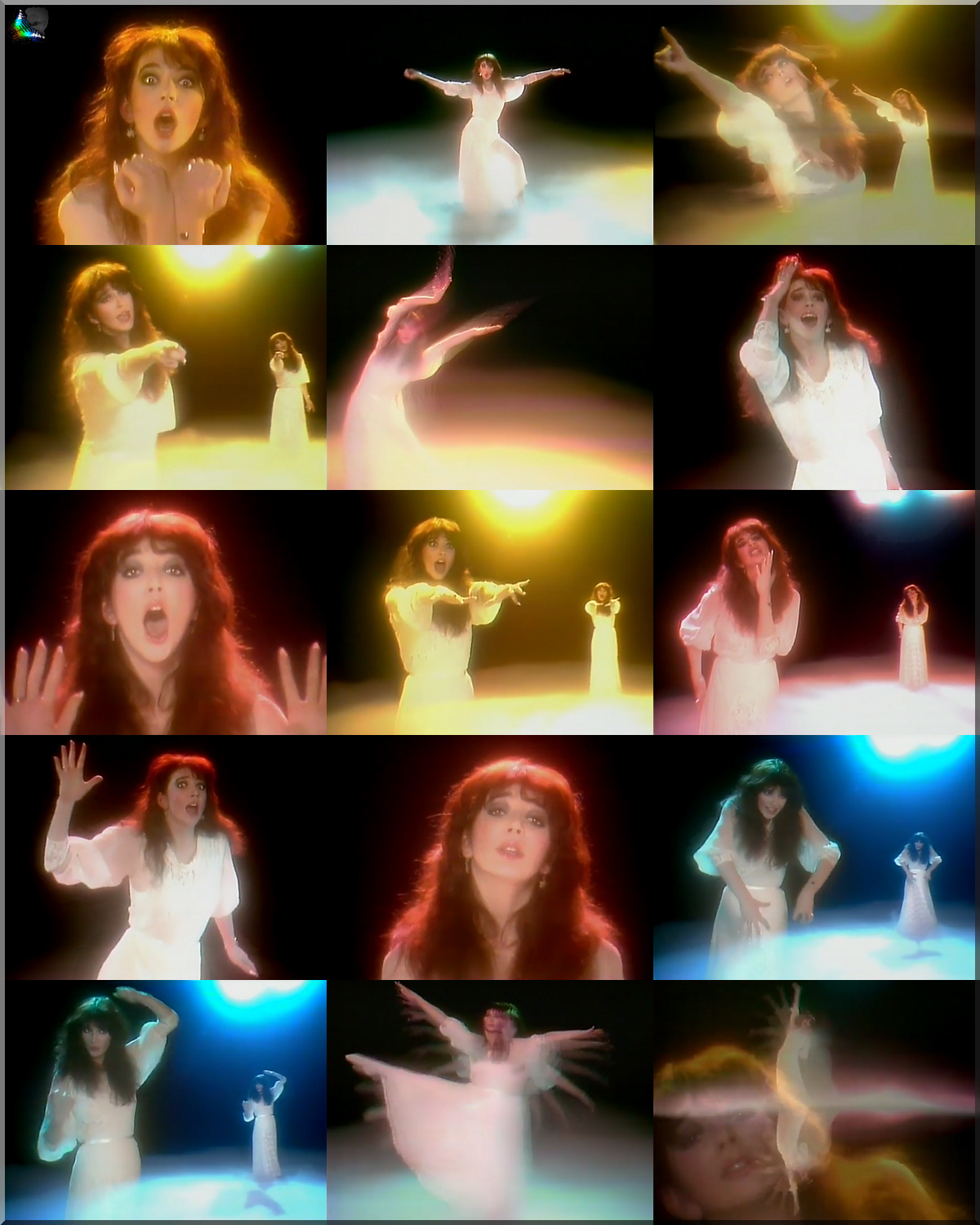 Gorgeous Kate Bush in Wuthering Heights   assembled by FlaviusVersadus