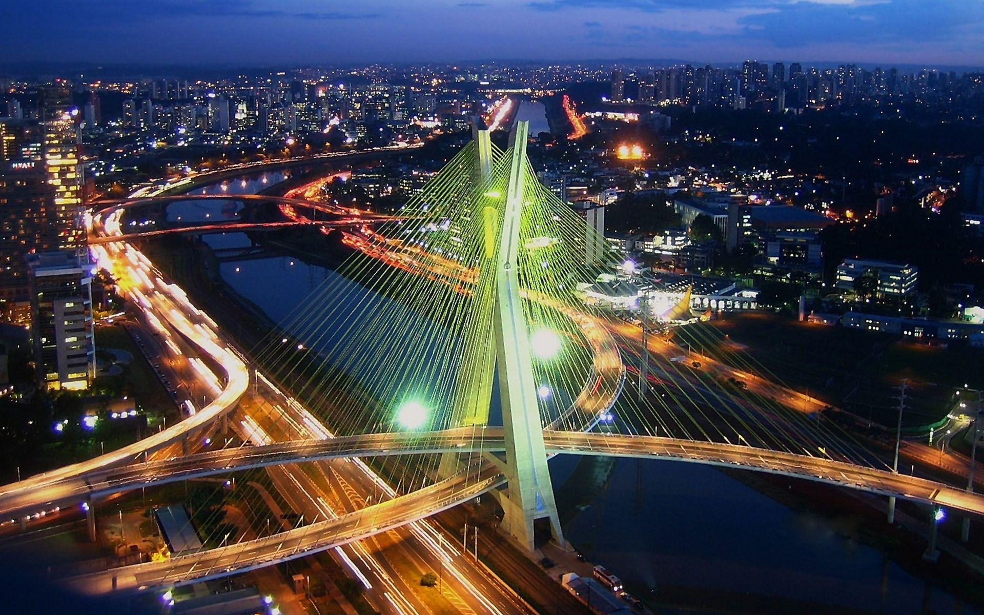 Ponte Octavio Frias - picture by Flavius Versadus
