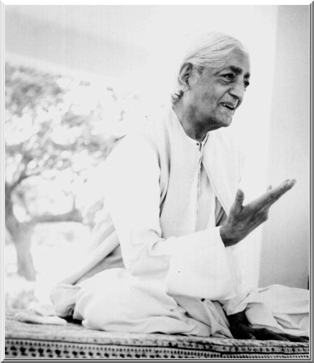 Jiddu Krishnamurti - Homem Novo; Arquitetos, Agentes das Mudanças picture by flaviusversadus